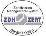 Logo ISO9001 Certificate
