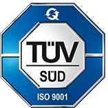 Logo TÜV Süd ISO9001 Certificate